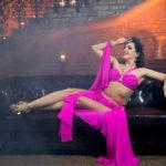 Orientální tanečnice vystoupení